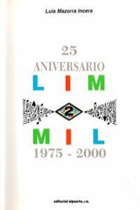 LIM 2 MIL (1975-2000) 25 ANIVERSARIO: portada
