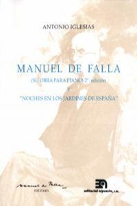 MANUEL DE FALLA  NOCHES EN LOS JARDINES DE ESPAñA 2ªED: portada