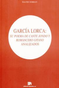 GARCIA LORCA SU POEMA DE CANTE JONDO Y ROMANCERO GITANO: portada