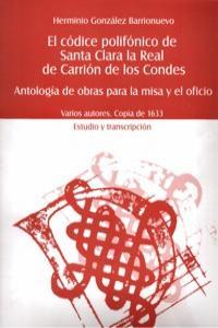 CODICE POLIFONICO DE SANTA CLARA LA REAL CARRION DE CONDES: portada