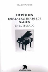 EJERCICIOS PARA LA PRÁCTICA DE LOS SALTOS EN EL TECLADO: portada
