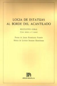 LOGIA DE ESTATUAS AL BORDE DEL ACANTILAD (CORO MIXTO A 4 VOC: portada