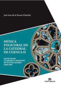 Música policoral de la catedral de Cuenca II: portada