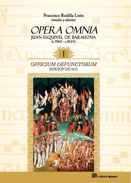 Officium defunctorum de Juan Esquivel de Barahona: portada