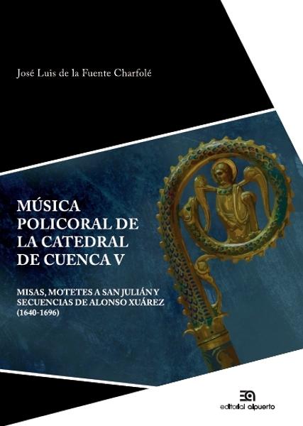 MúSICA POLICORAL DE LA CATEDRAL DE CUENCA V: portada