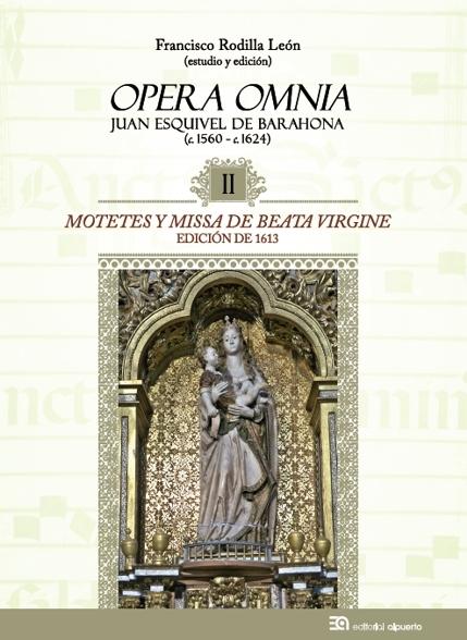Motetes y Missa de Beata Virgine. Juan Esquivel de Barahona: portada