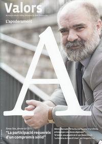 REVISTA VALORS Nº121 DESEMBRE 2014: portada