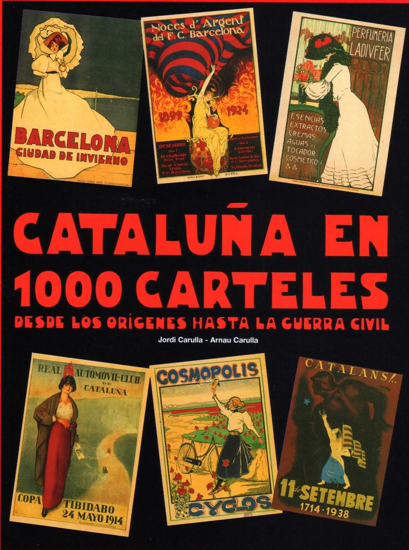 CATALUñA EN 1000 CARTELES: portada
