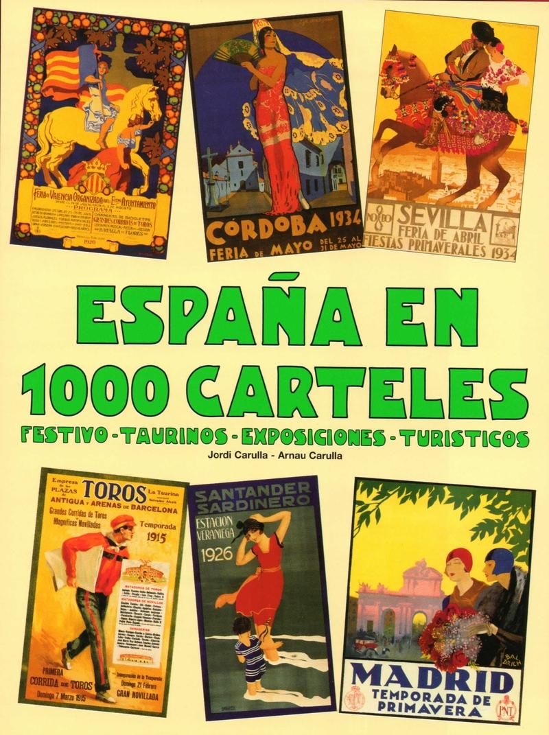 ESPAñA EN 1000 CARTELES: portada