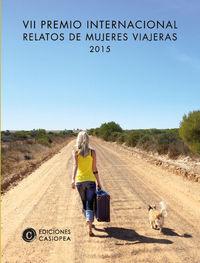 VII PREMIO RELATOS MUJERES VIAJERAS: portada