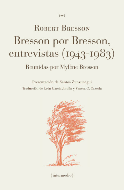 Bresson por Bresson, entrevistas (1943-1983): portada