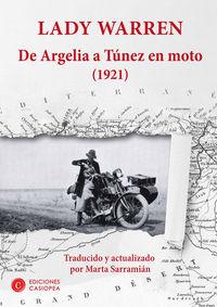 De Argelia a Túnez en moto: portada