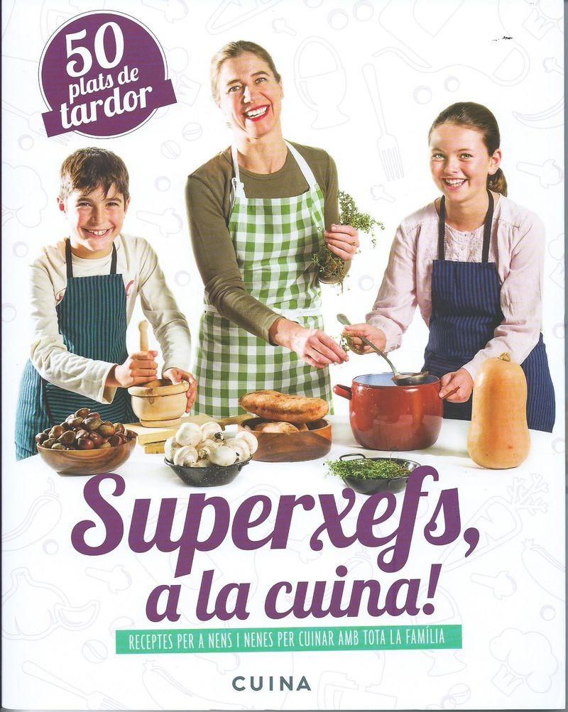Superxefs, a la cuina- 50 plats de tardor: portada