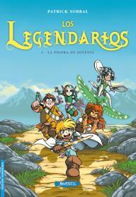 LOS LEGENDARIOS: portada