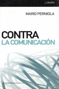 CONTRA LA COMUNICACIóN: portada