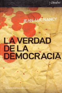 LA VERDAD DE LA DEMOCRACIA: portada