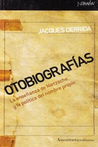 OTOBIOGRAF�AS: portada