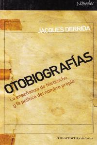 OTOBIOGRAFíAS: portada
