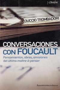 CONVERSACIONES CON FOUCAULT: portada