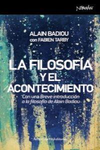 LA FILOSOFíA Y EL ACONTECIMIENTO: portada