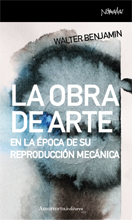 LA OBRA DE ARTE EN LA ÉPOCA DE SU REPRODUCCIÓN MECÁNICA: portada