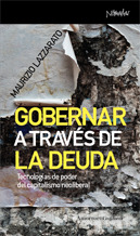 GOBERNAR A TRAVÉS DE LA DEUDA: portada