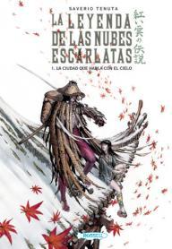 LA LEYENDA DE LAS NUBES ESCARLATAS: portada