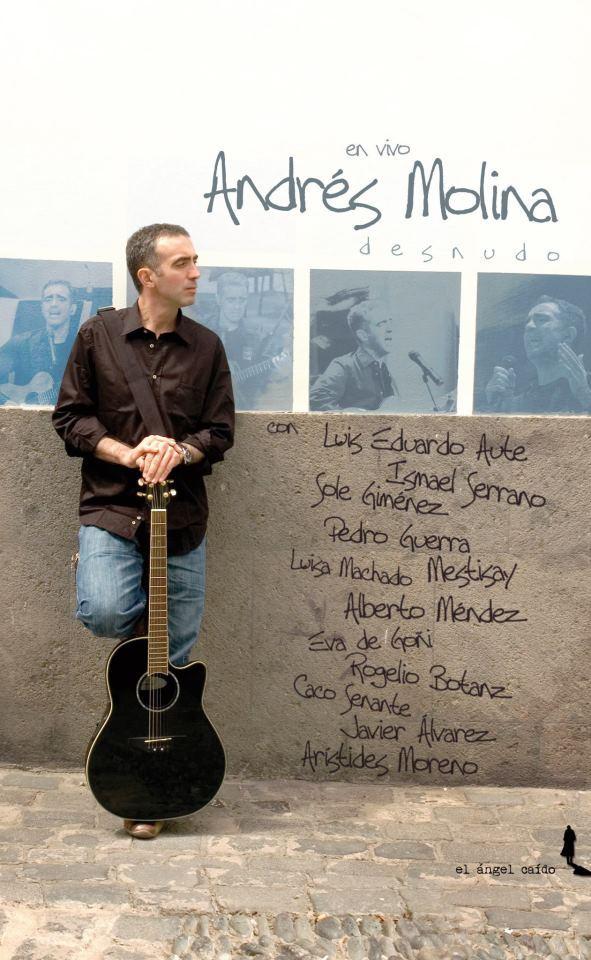Desnudo: Andr�s Molina en vivo: portada