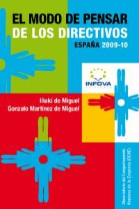 MODO DE PENSAR DE LOS DIRECTIVOS,EL: portada