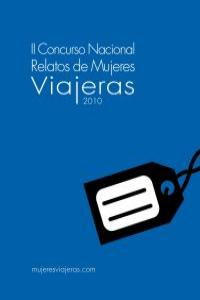 II CONCURSO NACIONAL RELATOS DE MUJERES VIAJERAS 2010: portada