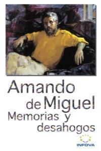 MEMORIAS Y DESAHOGOS: portada