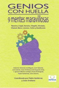 GENIOS CON HUELLA: portada