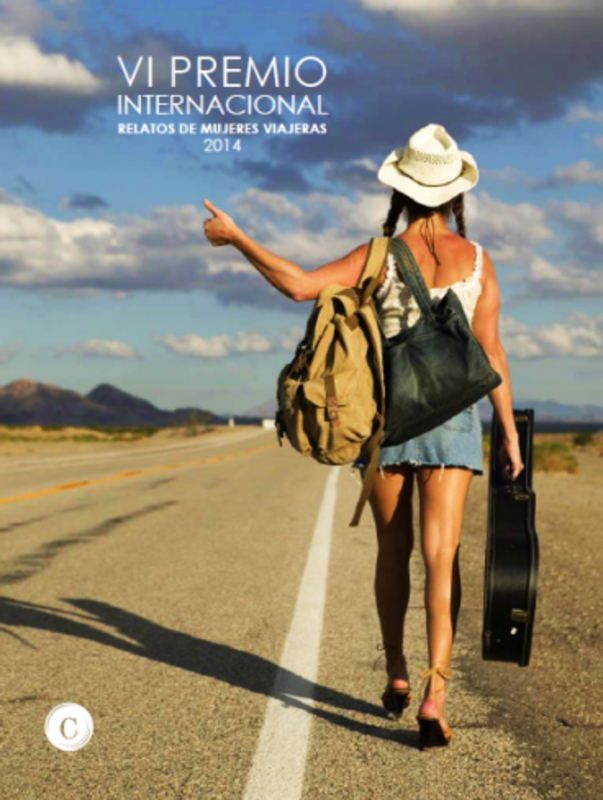 VI PREMIO INTERNACIONAL RELATOS MUJERES VIAJERAS: portada