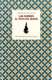 LAS HURDES. EL TEXTO DEL MUNDO: portada