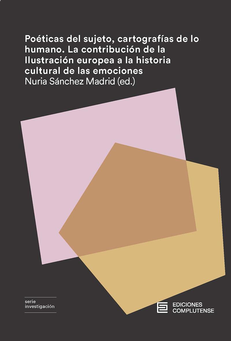 Poéticas del sujeto, cartografías de lo humano.: portada