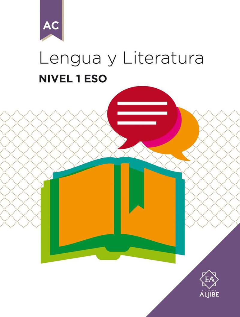 LENGUA Y LITERATURA Nivel 1 ESO: portada