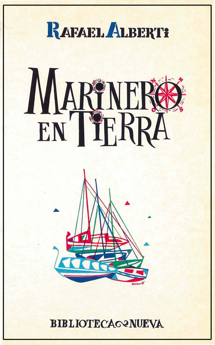 MARINERO EN TIERRA: portada