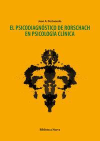 PSICODIAGNóSTICO DE RORSCHACH EN PSICOLOGíA CLíNICA: portada