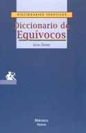 DICCIONARIO DE EQUÍVOCOS: portada
