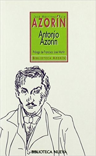 ANTONIO AZORÍN: portada