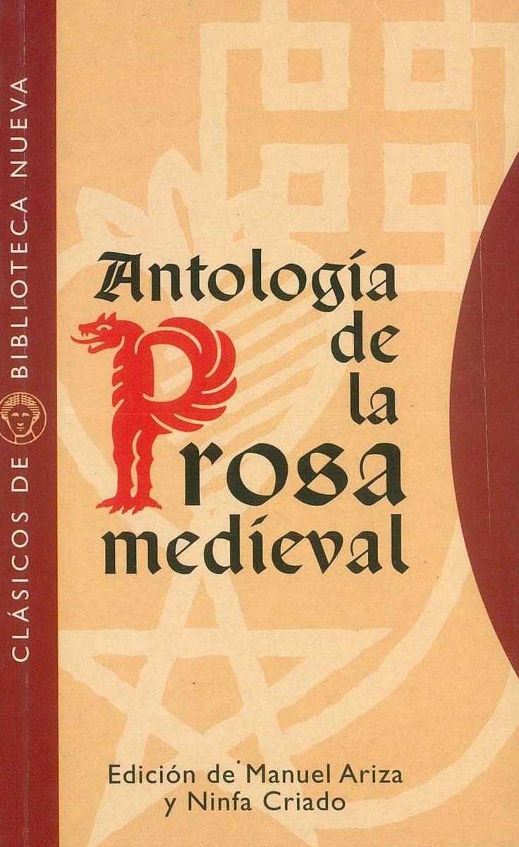 ANTOLOGíA DE LA PROSA MEDIEVAL: portada