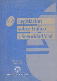 LEGISLACION SOBRE TRAFICO Y SEGURIDAD VIAL: portada