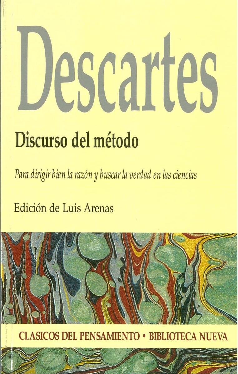 DISCURSO DEL MÉTODO: portada