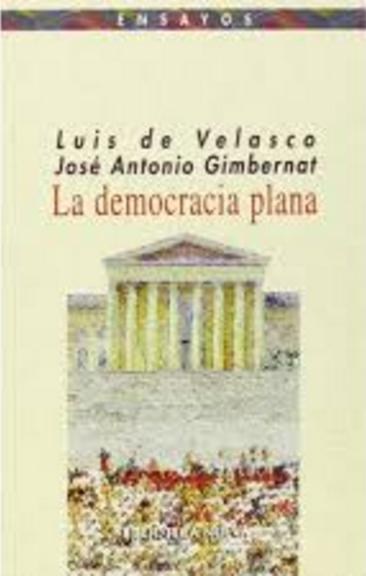 LA DEMOCRACIA PLANA: portada