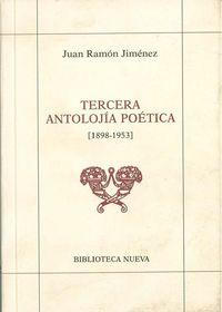 TERCERA ANTOLOJ�A PO�TICA (1898 - 1953): portada