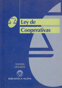 LEY DE COOPERATIVAS: portada