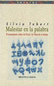 MALESTAR EN LA PALABRA: portada