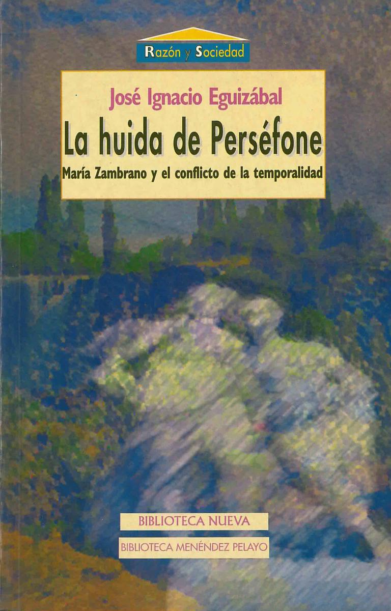 HUIDA DE PERSÉFONE, LA: portada