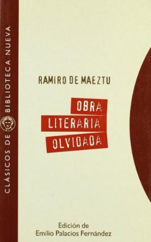 OBRA LITERARIA OLVIDADA (1897-1900): portada