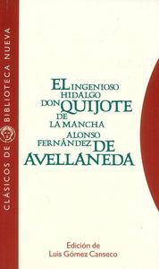 EL INGENIOSO HIDALGO DON QUIJOTE DE LA MANCHA: portada